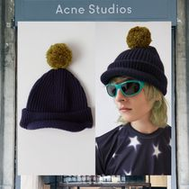 【17AW NEW】 Acne Studios_men /Bobbie /ウールビーニーNV