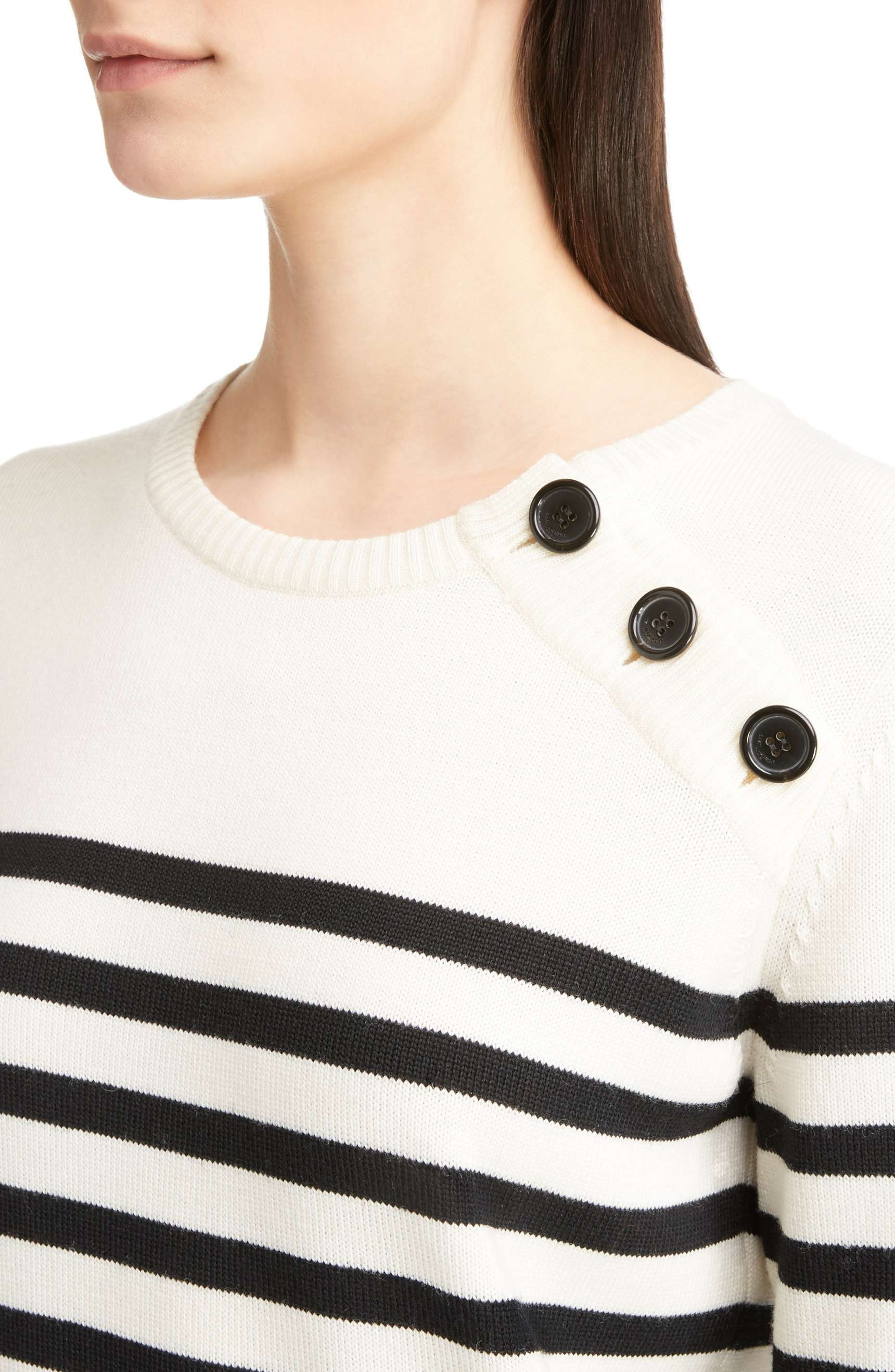 17-18AW WSL1150 BUTTONED MARINE SWEATER