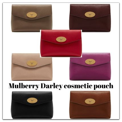 Mulberry メイクポーチ Mulberry Darleyコスメティックポーチ7色 RL5018-346G110