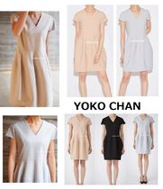 2017Aw新作♪YOKO CHAN V-neck Balloon Dress★3色
