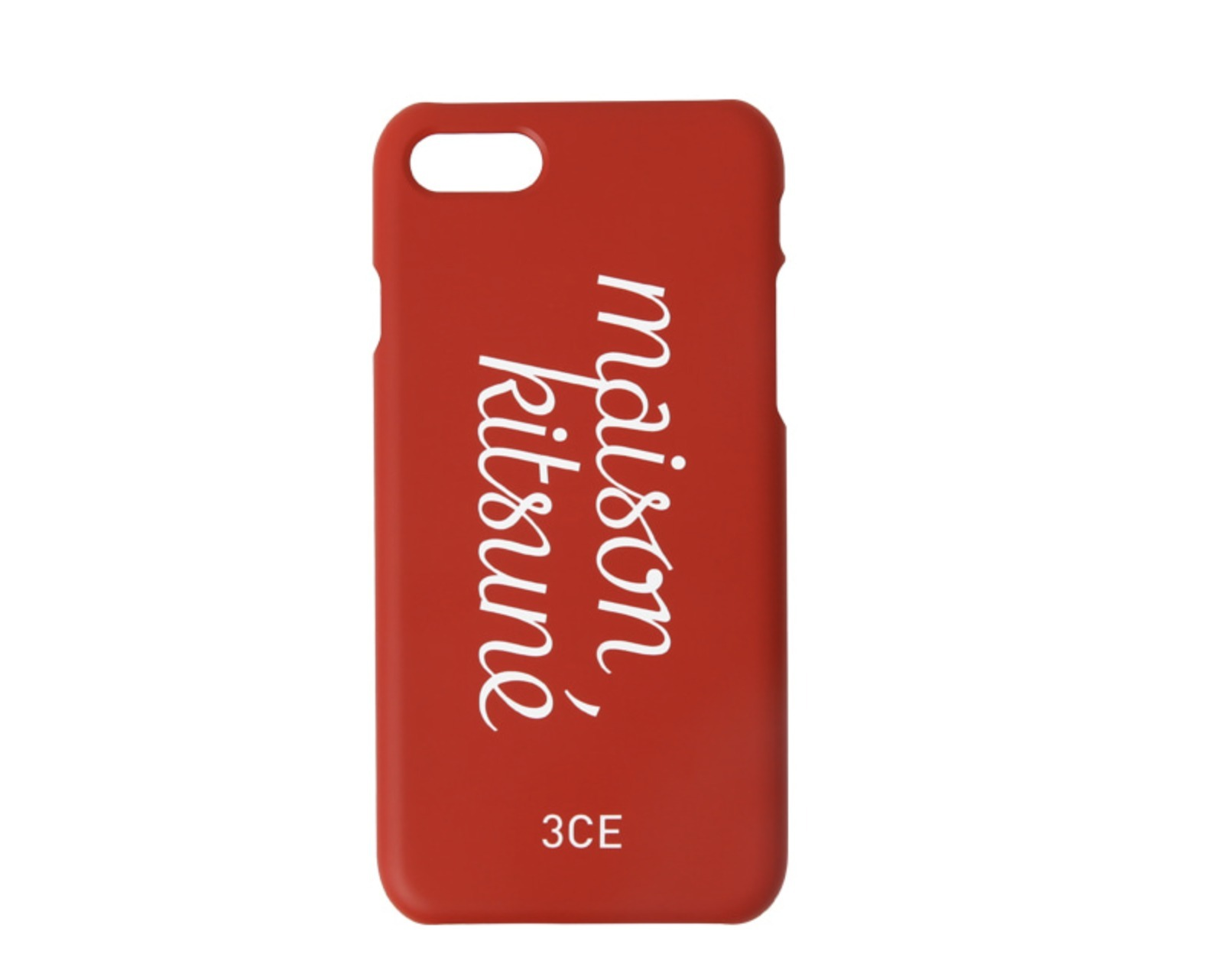 コラボ 3CE x MAISON KITSUNE PHONE CASE / iphone7