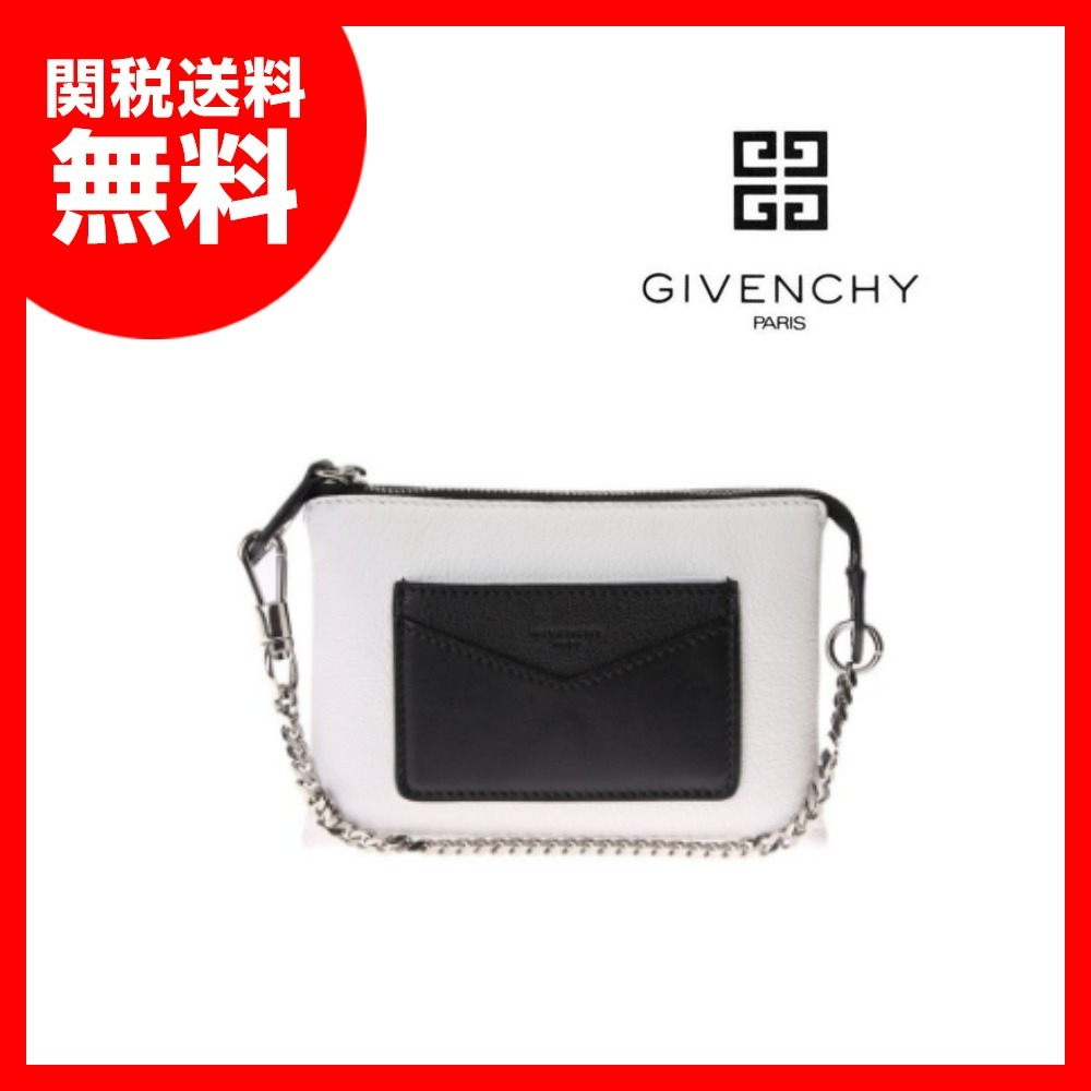 【GIVENCHY】レザーDuettoポーチ★関税送料込