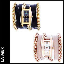 LA MER COLLECTIONS(ラメールコレクション) 腕時計その他 ★3-7日着/追跡付【即日発送・LA MER】Palermo w/Motor Chains
