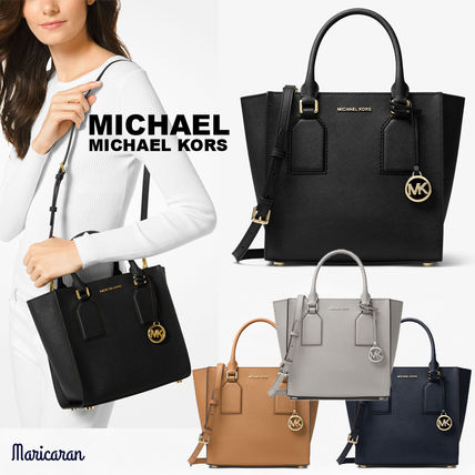 【セール!】MICHAEL KORS * Selby Saffiano Leather Crossbody
