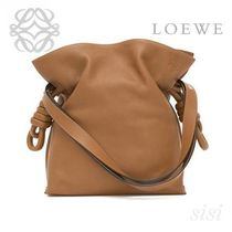 LOEWE★ロエベ Flamenco Knot Bag Tan