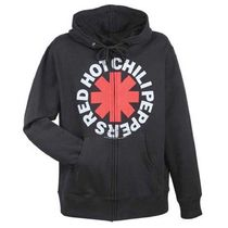 Red Hot Chili Peppers  Asterisk Zip Hoodie(S)