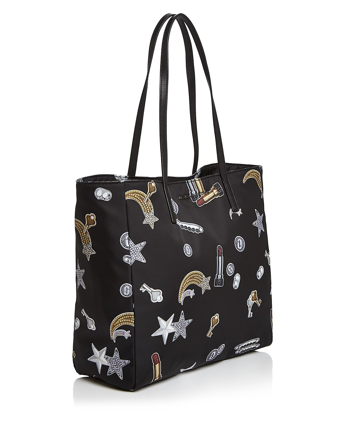 MARC JACOBS☆Tossed Charms Printed Nylon Tote