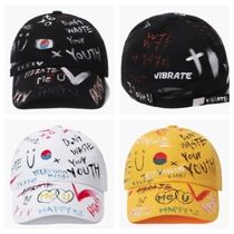 日本未入荷VIBRATEのHAPPY SKETCH BALL CAP 全3色