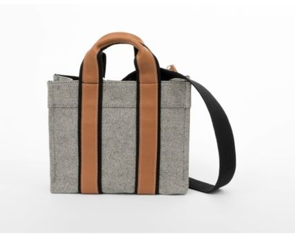 17/18AW[RUE DE VERNEUIL] BABY TOTE leather marb
