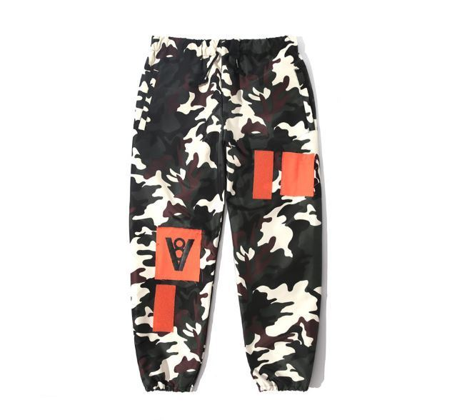 日本未入荷VIBRATEのV8 - PATCH JOGGER PANTS