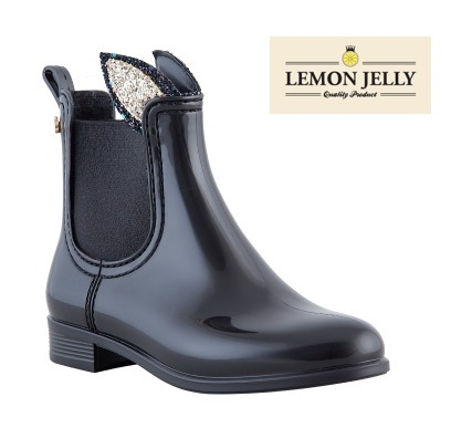 【LEMON JERRY】FAUN 09 Kid ankle boot Black