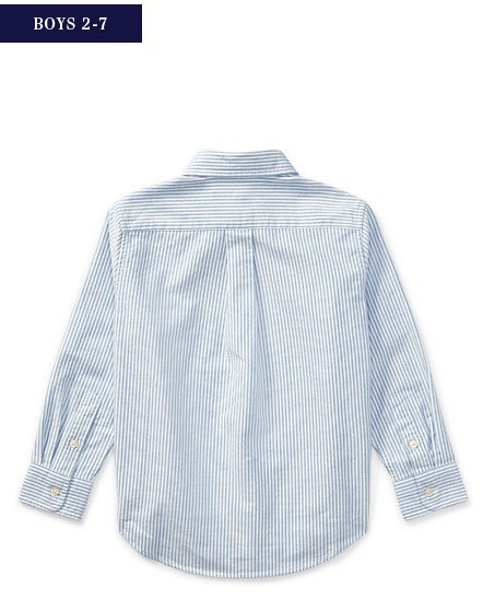 新作♪ 国内発送 COTTON OXFORD SPORT SHIRT boys 2~7