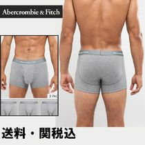 Abercrombie & Fitch 3 Packトランク ロゴ ウエスト バンド
