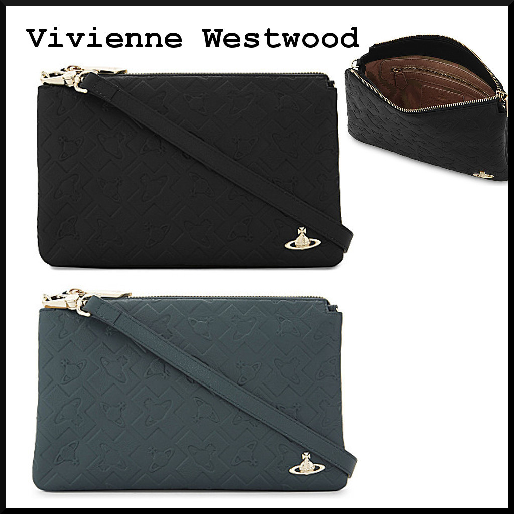 Harrow leather クラッチバッグ【Vivienne Westwood】2 Color