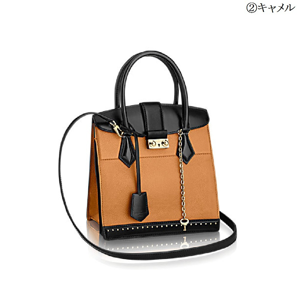 【Louis Vuitton】ゴールドロック チェーン付★ハンドバッグ 2色