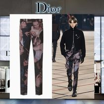 "【17AW NEW】 Christian Dior_men /""Big Mosh Pit 2007""パンツBK"