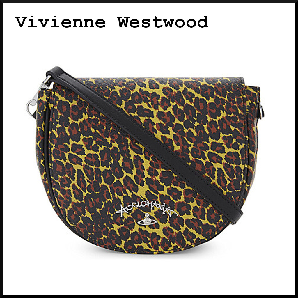Anglomania leopard ショルダーバッグ【Vivienne Westwood】