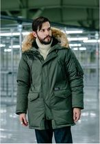 COVERNATの17A/W GOOSE DOWN N3B PARKA MID-LONG 全3色