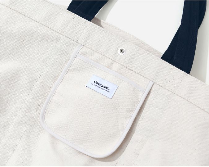 日本未入荷COVERNATのCANVAS PK ECO BAG