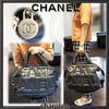 CHANEL マザーズバッグ 【関税補償・追跡付】全面CHANEL♡最新/限定ボーリングBag