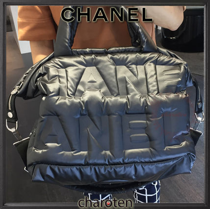 CHANEL マザーズバッグ 【関税補償・追跡付】全面CHANEL♡最新/限定ボーリングBag(2)