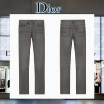 【17AW NEW】 Christian Dior_men/METAL BUCKLEデニムジーンズGY