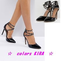 ASOS PORTMORE Studded Pointed Heels♪