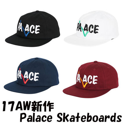 17AW新作 Palace Skateboards CORRECT 6-PANEL キャップ