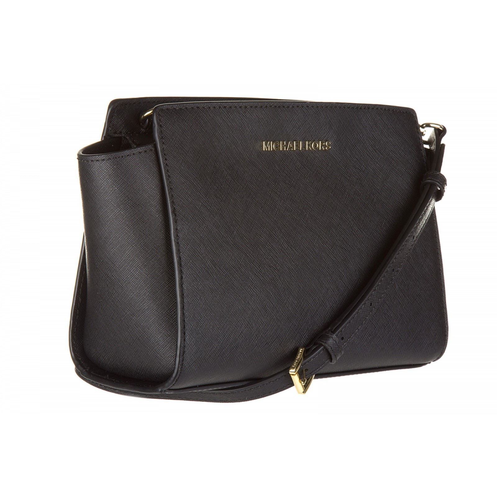 関税送料込 leather cross-body messenger shoulder bag selma♪