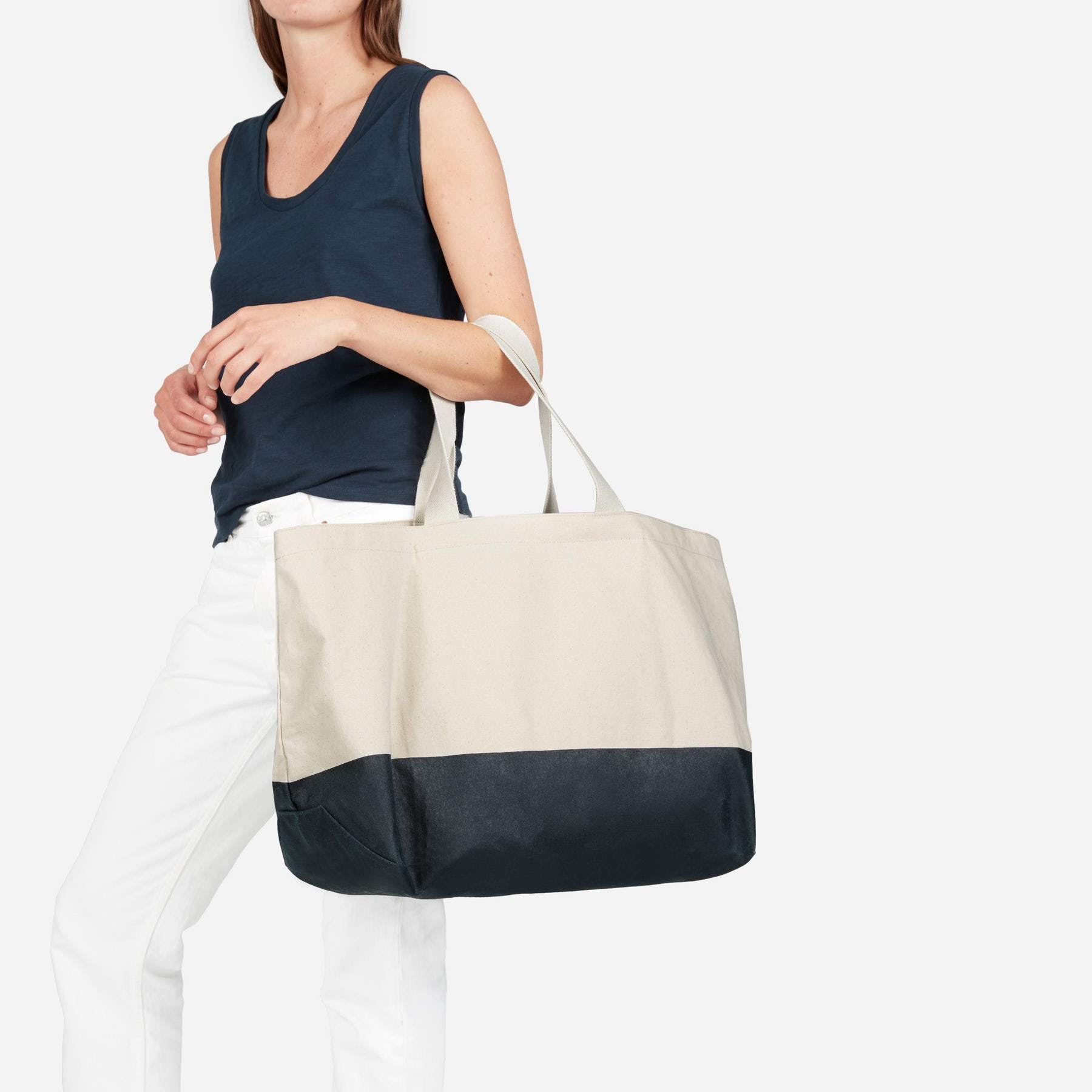【EVERLANE】●日本未入荷●大人気●The Beach Canvas Tote