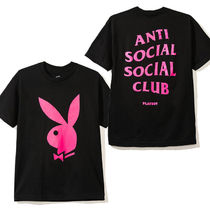ANTI SOCIAL SOCIAL CLUB (ASSC)  PLAY BOY コラボ Tシャツ