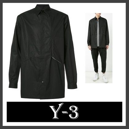 Y-3 Button Up Shirt Jacket (送料・関税込)