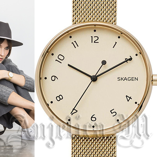 【安心ヤマト便】SKAGEN Signatur Gold Mesh Watch SKW2625