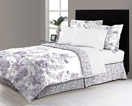 6 - 8 Piece Complete Bed in a Bag Set Includes Sheet set