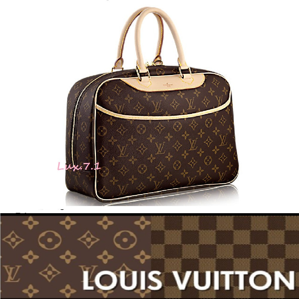 【Louis Vuitton】機能的★モノグラム 化粧道具用バッグ