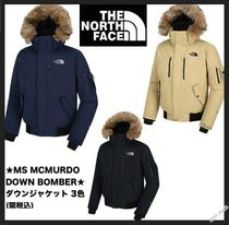 ☆THE NORTH FACE☆M'S MCMURDO DOWN BOMBERパーカー3色