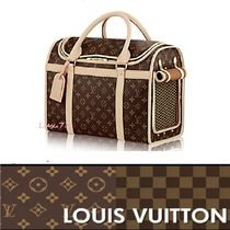 【Louis Vuitton】耐水性抜群★モノグラム 旅行用 小型犬 バッグ