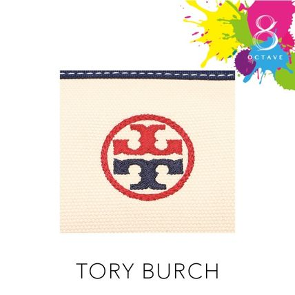 Tory Burch マザーズバッグ 【トリーバーチ】EMBROIDERED-T TOTE トート35910/オフホワイト(8)