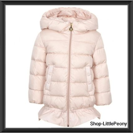 """17-18AW Moncler """"NEW AZINZA"""" ピンク"""