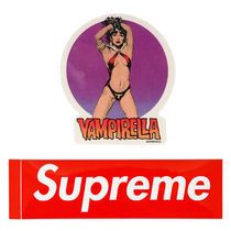 SUPREME★Vampirella & Red Box Logo 限定ステッカー2枚セット