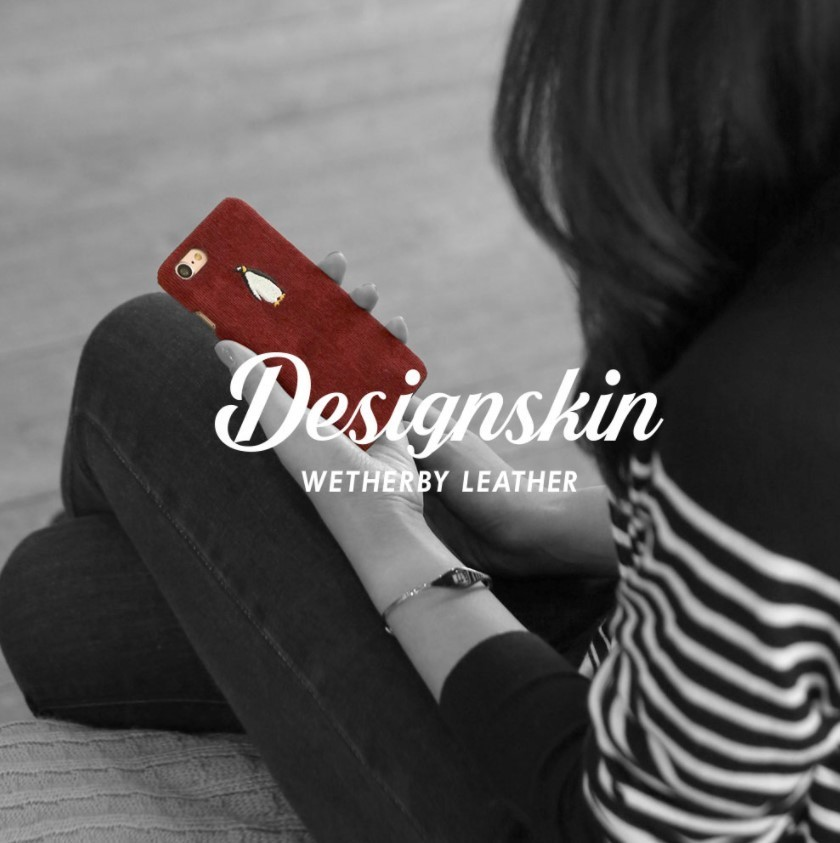 DESIGN SKIN IPHONE 7 WETHERBY CORDUROY BAR TYPE