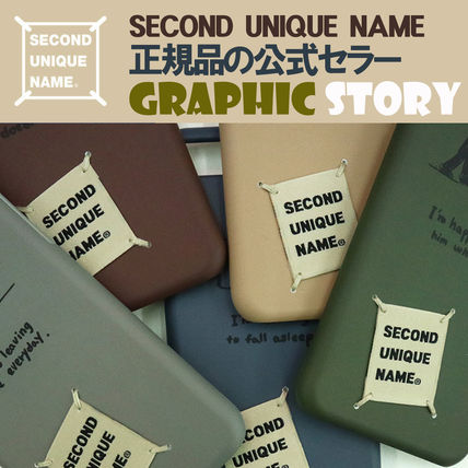 SECOND UNIQUE NAME iPhone・スマホケース 【NEW】「SECOND UNIQUE NAME」 GRAPHIC STORY 正規品