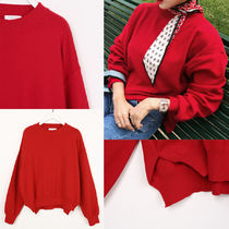 IMVELY(イムブリー) ニット・セーター Relaxed Fit Knit Sweater