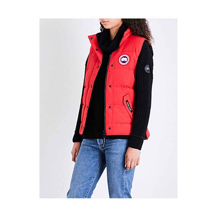 CANADA GOOSEカナダグース Freestyle shell down gilet red