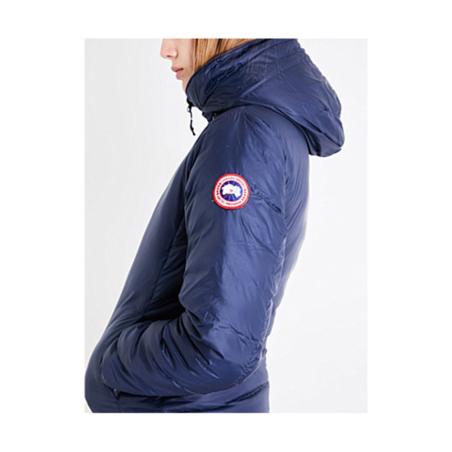 CANADA GOOSEカナダグース Camp quilted jacket blue