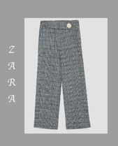 ○ZARA○日本完売NEW CHECKED TROUSERS DETAILS 9320/232