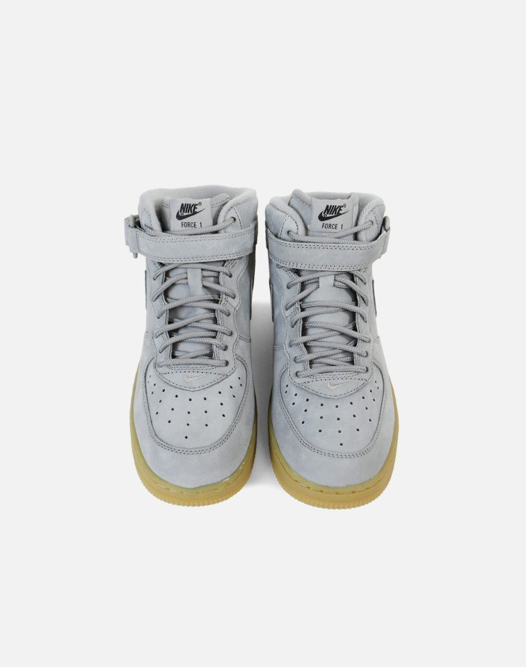 FW17 NIKE AIR FORCE 1 HIGH GREY GUM PS 16.5-22cm 送料無料