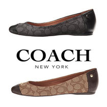 ♪COACH♪Sale ロゴ入り定番柄!フラットシューズ Chelsea