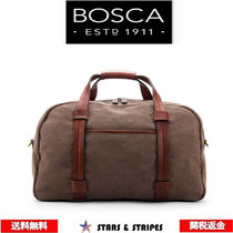 Bosca(ボスカ) バッグ・カバンその他 BOSCA  Fabric & Wahed Leather ダッフルバッグ