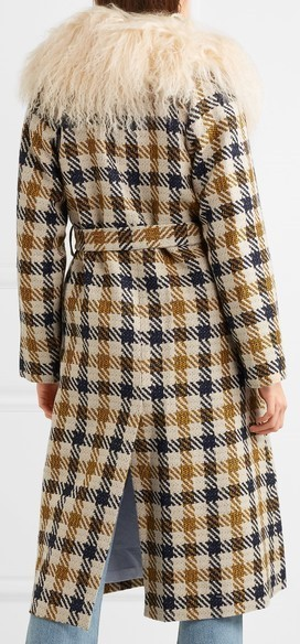 【17AW】大注目!!★Sea★Margot checked tweed coat